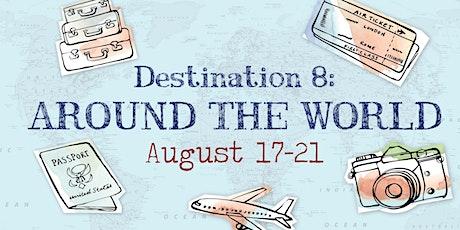 Around the World Summer Art Camp | Destination 8: August 17th - 21st tickets