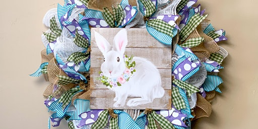 DIY Easter Wreath Night