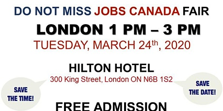 London Job Fair - March 24th, 2020 tickets