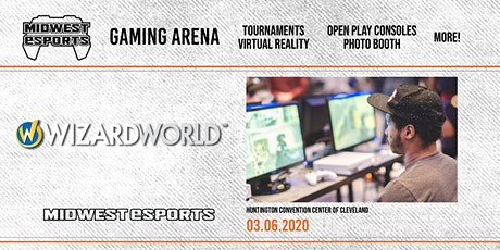 Wizard World Cleveland - Gaming Arena tickets