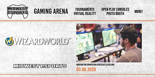 Wizard World Cleveland - Gaming Arena