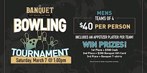 The Banquet Men's Bowling Tournament