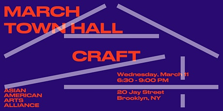 March Town Hall: Craft tickets