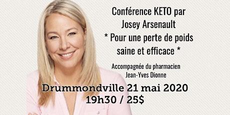 DRUMMONDVILLE - Conférence KETO Pour une perte de poids saine et efficace! 25$ billets