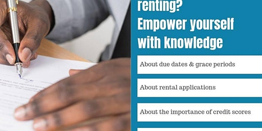 Renting 101 - Tenant Education Workshop 3/04