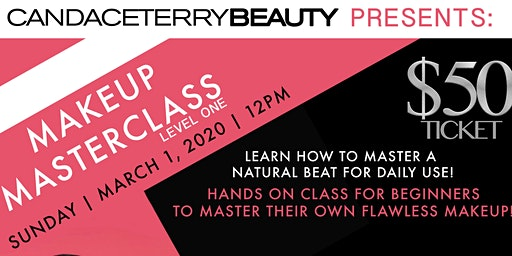 CandaceTerryBeauty Makeup Masterclass Level 1