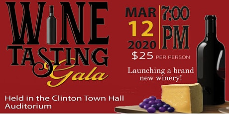 Wine Tasting Gala tickets