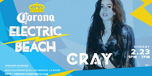Corona Electric Beach w/ Cray