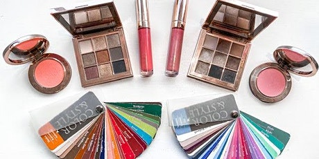 Colour Analysis & Makeup Masterclass - with stylist Lindsay Punch & Amelia Rose Beauty tickets