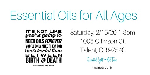 Essential Oils for All Ages