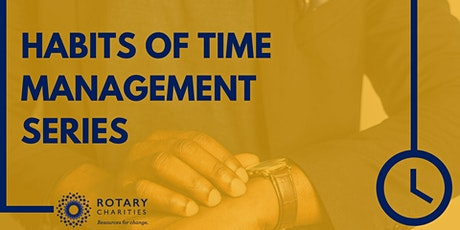 Habits of Time Management tickets