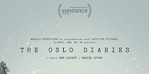 Canadian Friends of Peace Now presents: The Oslo Diaries