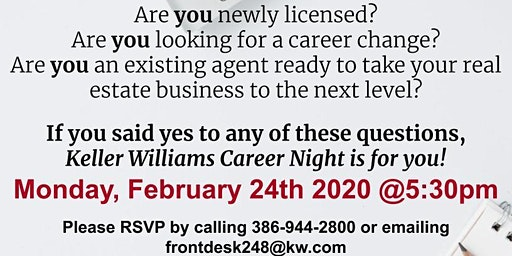 Career Night at Keller Williams Realty
