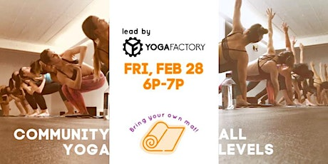 Community Yoga Night - Yoga Factory @ Assemble tickets