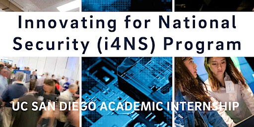 Save-the-Date: Innovating for National Security (3/6/20)