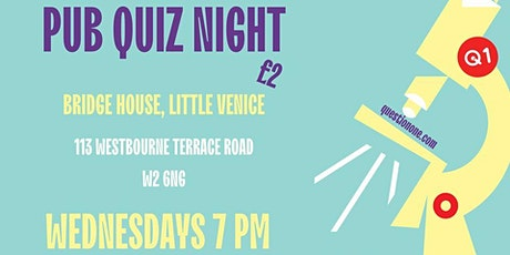 Pub Quiz Night tickets