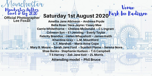 Manchester Author Event 2020 - Book signing