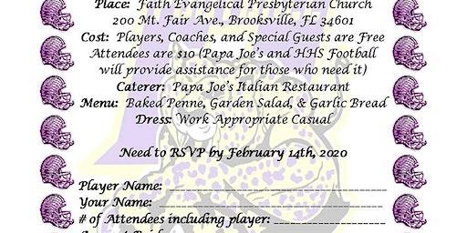 2019 HHS Leopard Football Banquet