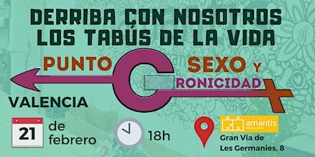 Café Tabú València. Punto C: sexo y cronicidad. tickets