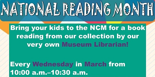 National Reading Month: Read with our Museum Librarian!