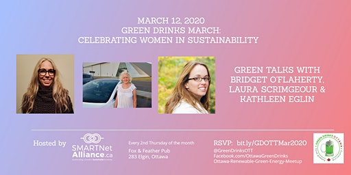 Green Drinks March - Celebrating Women In Sustainability