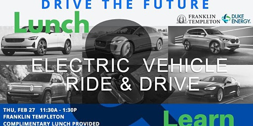 Drive The Future Electric Vehicle Ride & Drive - Lunch & Learn