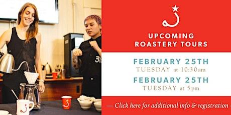 Ritual Coffee Roastery Tour: 5pm-6:15pm tickets