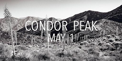 Condor Peak Trail Work March 1st
