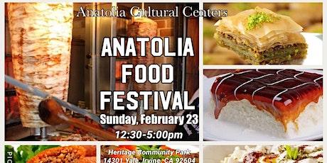 Anatolia Food Festival tickets