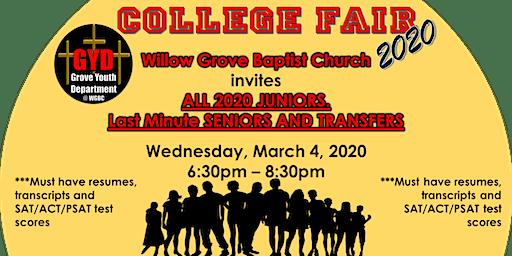 WGBC Spring College Fair