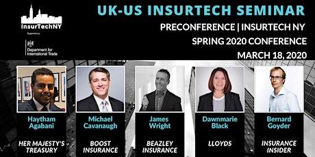 Transforming Transatlantic Insurance Conference (UK-US) tickets