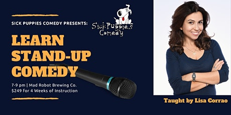 Stand Up Comedy Class in Boca Raton by Lisa Corrao tickets