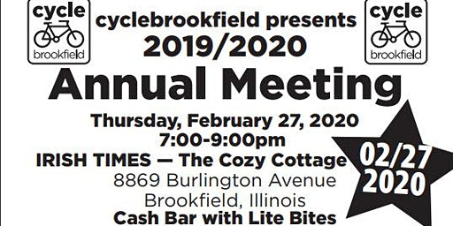Cycle Brookfield Annual Meeting - Celebrate 2019!