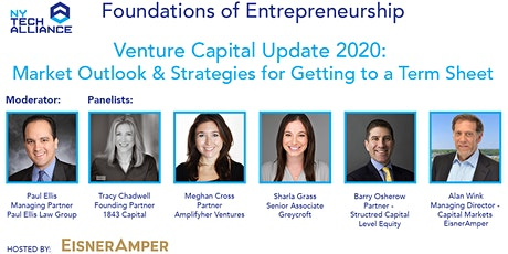 VC Update 2020: Market Outlook & Strategies for Getting to a Term Sheet tickets