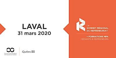 Les Rdv du repreneuriat - Sommet régional du repreneuriat à Laval + Formations MPA