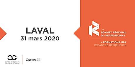 Les Rdv du repreneuriat - Sommet régional du repreneuriat à Laval + Formations MPA tickets
