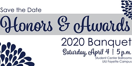 Honors & Awards 2020 Banquet tickets