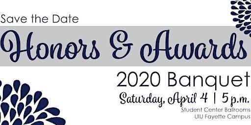 Honors & Awards 2020 Banquet