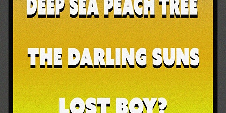 Deep Sea Peach Tree / The Darling Suns / Lost Boy? tickets