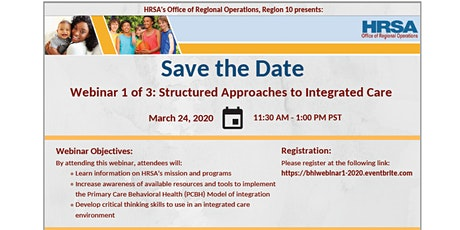Structured Approaches to Integrated Care tickets