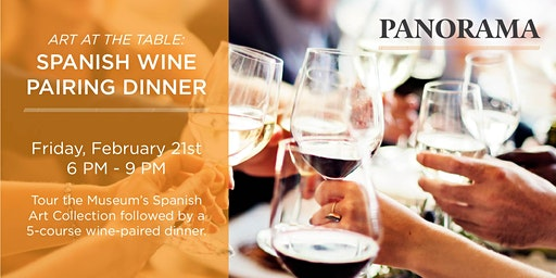 Art at the Table: Spanish Wine Pairing Dinner