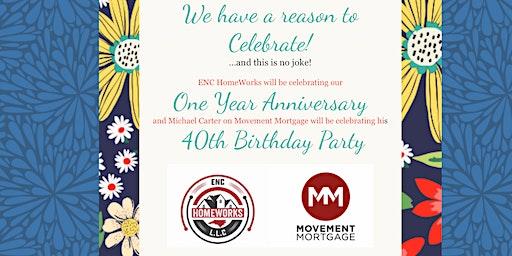 Enc HomeWorks 1st Anniversary & Michael Carter's 40th Birthday Bash!!!!!!