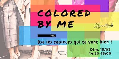 Colored ByMe - Atelier Colorimétrie