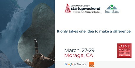Techstars Startup Weekend Saint Mary's College tickets