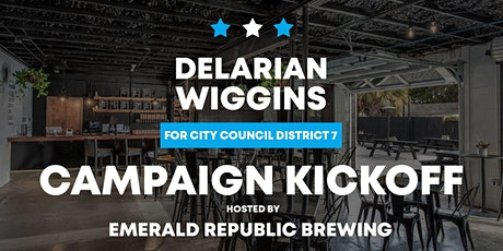 Delarian Wiggins for Pensacola City Council Campaign Kickoff tickets