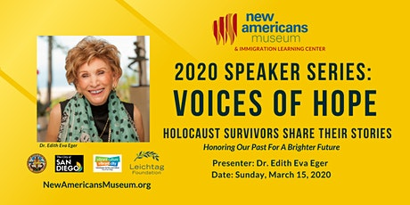 Voices of Hope: Holocaust Survivors Share Their Stories Lecture Series tickets