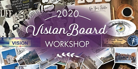 New Moon Vision Board Workshop tickets