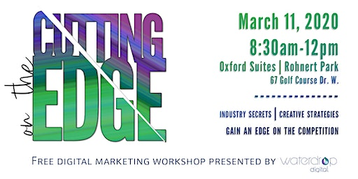 On the Cutting Edge - One Day Digital Marketing Workshop