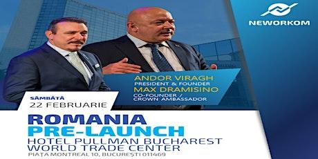 PRE-LAUNCH   ROMANIA tickets