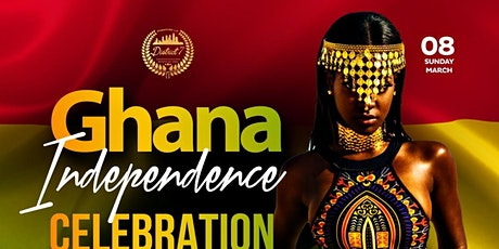 "GHANA INDEPENDENCE DAY CELEBRATION ""BEYOND THE RETURN DAY PARTY"" tickets"